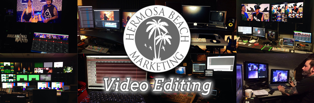 Our Video Editing Team Has Won Awards in Hollywood Los Angeles Production Staffing Los Angeles Production Staffing LA Hermosa Beach Marketing