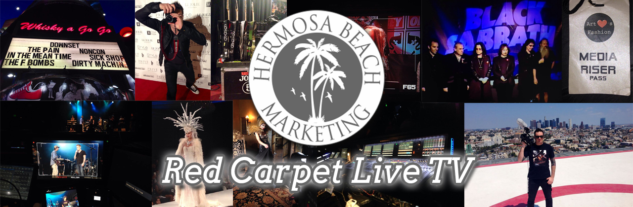 Tony Filipic Red Carpet Live TV Video Editing Prices And Packages Hermosa Beach Marketing