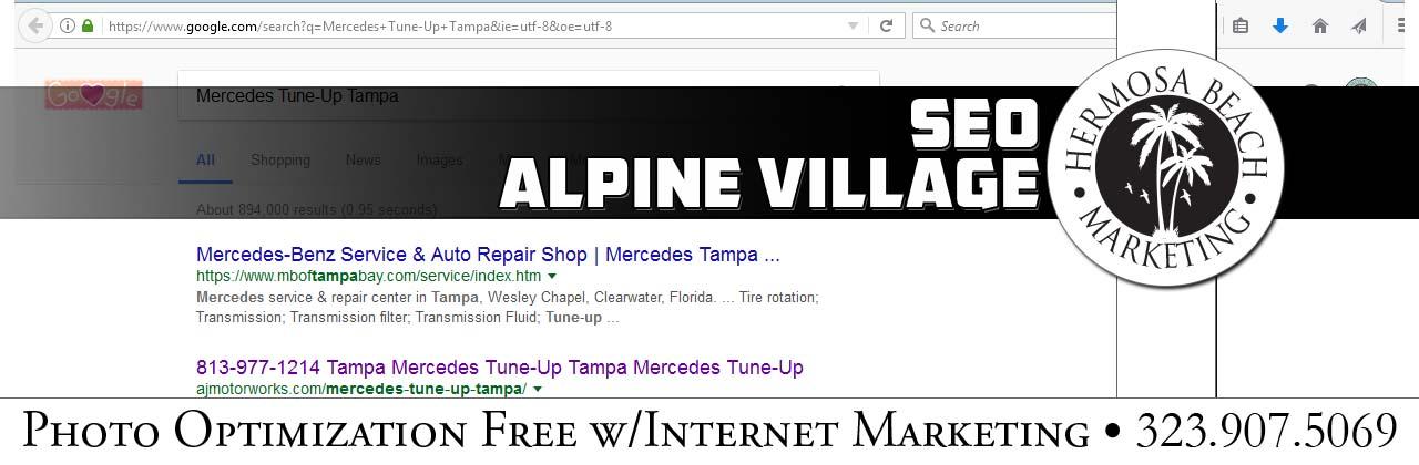 SEO Internet Marketing Alpine Village SEO Internet Marketing