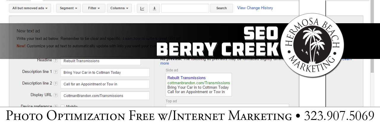 SEO Internet Marketing Berry Creek SEO Internet Marketing