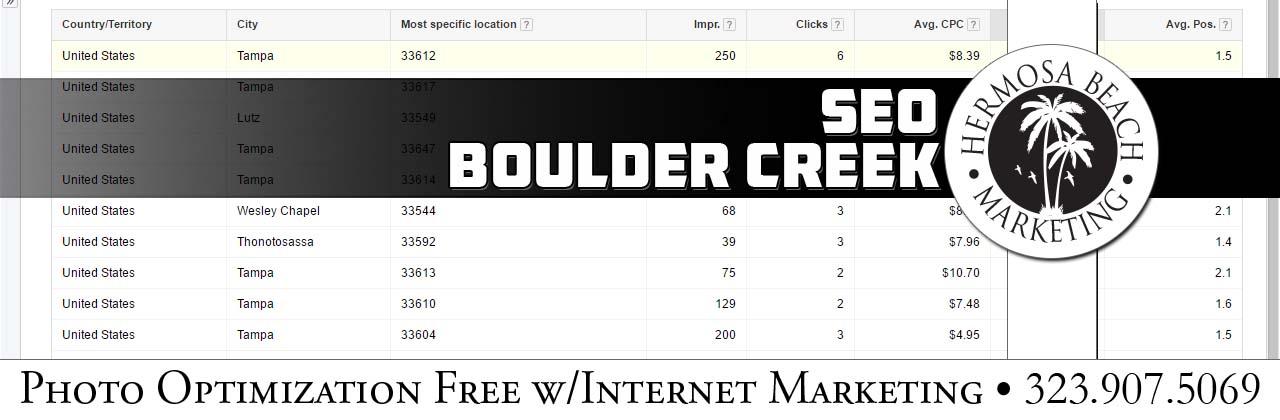 SEO Internet Marketing Boulder Creek SEO Internet Marketing