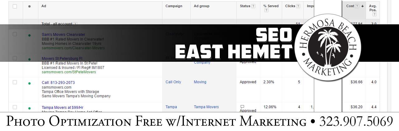 SEO Internet Marketing East Hemet SEO Internet Marketing