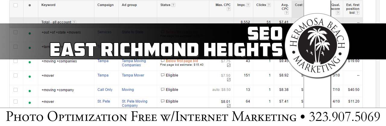 SEO Internet Marketing East Richmond Heights SEO Internet Marketing