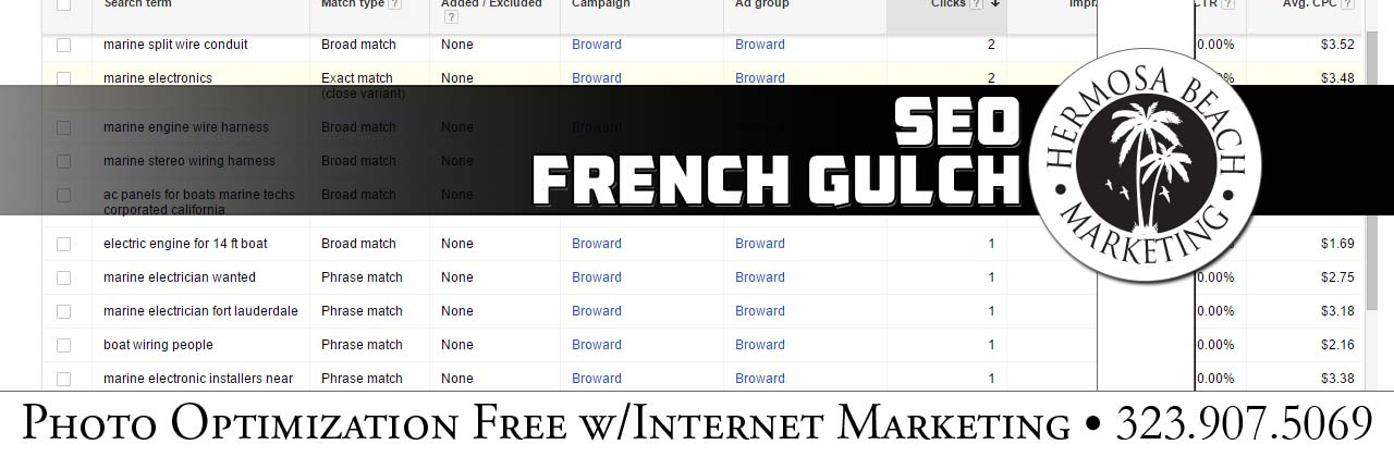 SEO Internet Marketing French Gulch SEO Internet Marketing