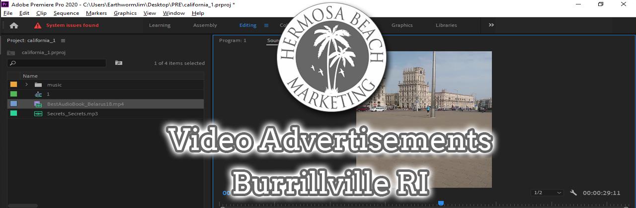 Video Editing Burrillville RI Video Editing