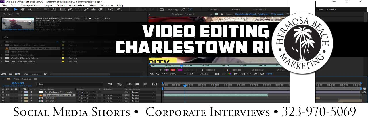 Video Editing Charlestown RI Video Editing
