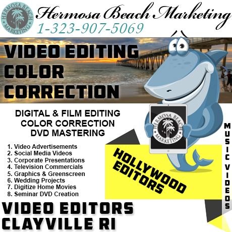 Video Editing Clayville RI Video Editing