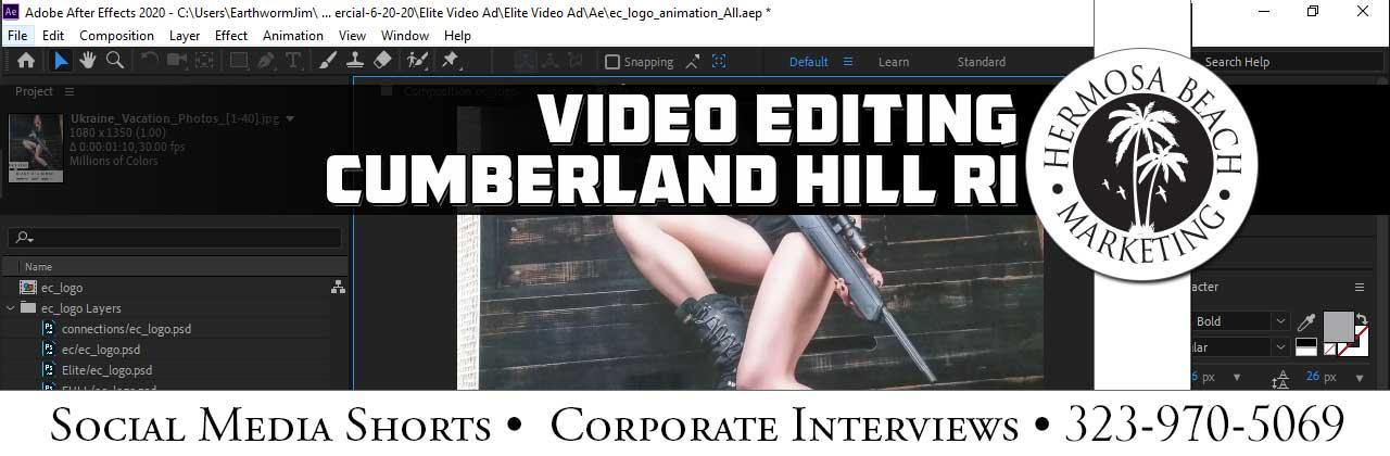 Video Editing Cumberland Hill RI Video Editing