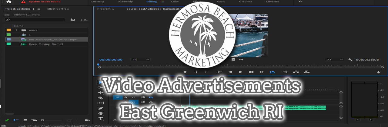 Video Editing East Greenwich RI Video Editing
