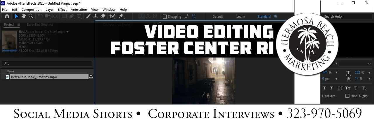 Video Editing Foster Center RI Video Editing