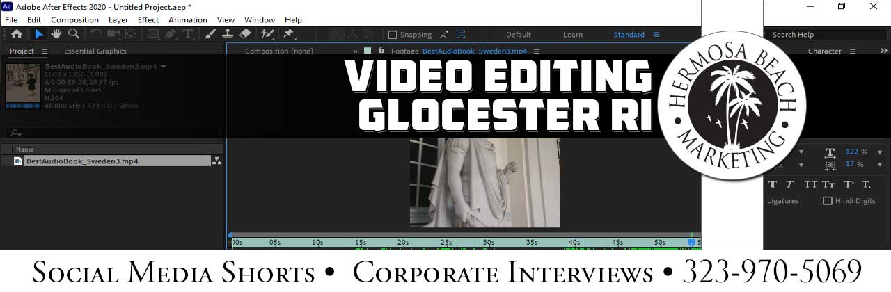 Video Editing Glocester RI Video Editing
