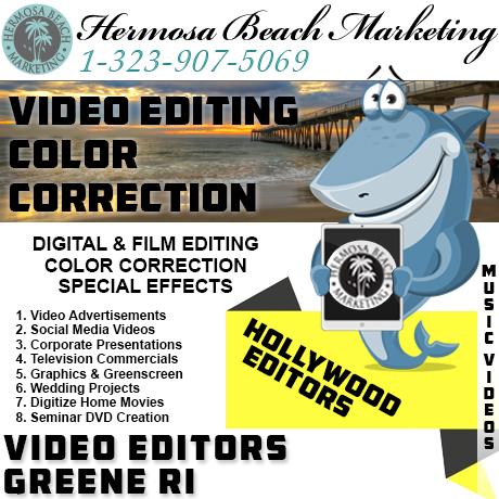 Video Editing Greene RI Video Editing