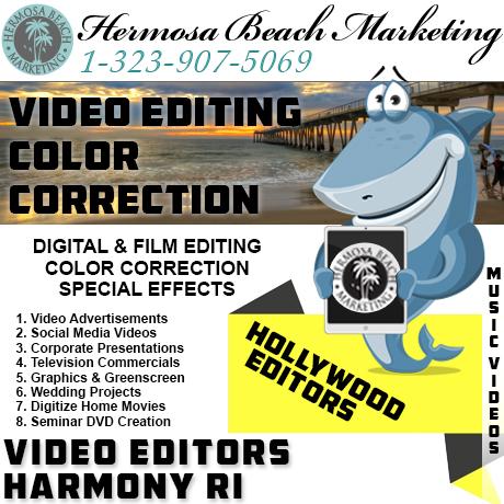 Video Editing Harmony RI Video Editing