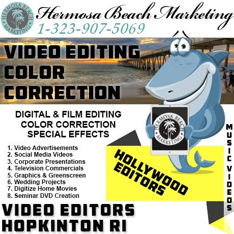 Video Editing Hopkinton RI Video Editing